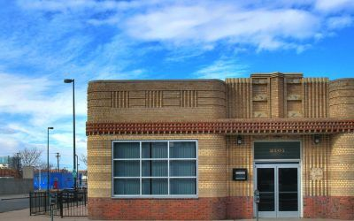 Denver Art Deco Brickwork