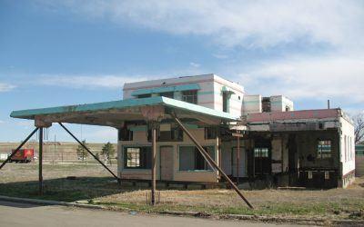 Johnson's Corner Gas Station