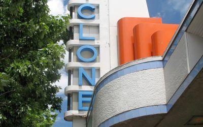 Lakeside Cyclone Entranceway