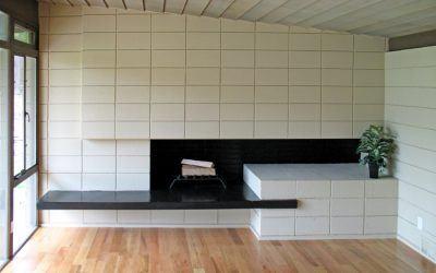 Modernist Fireplace