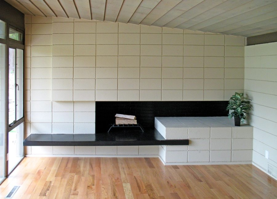 Modernist Fireplace