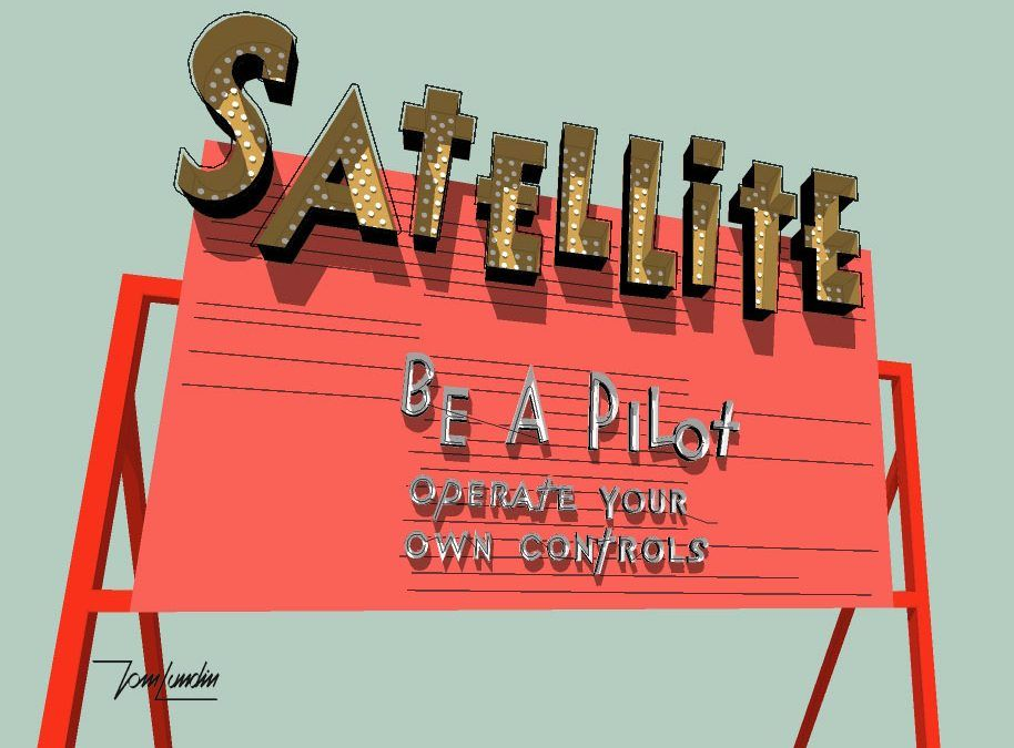 Satellite Sign