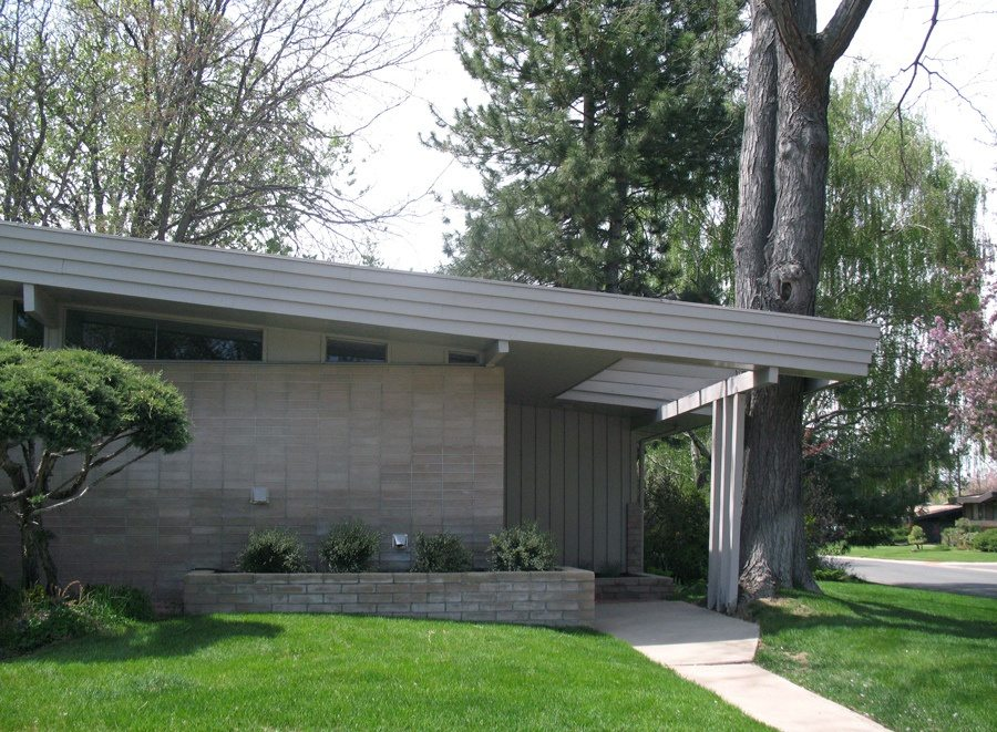 Usonian Roof Feature